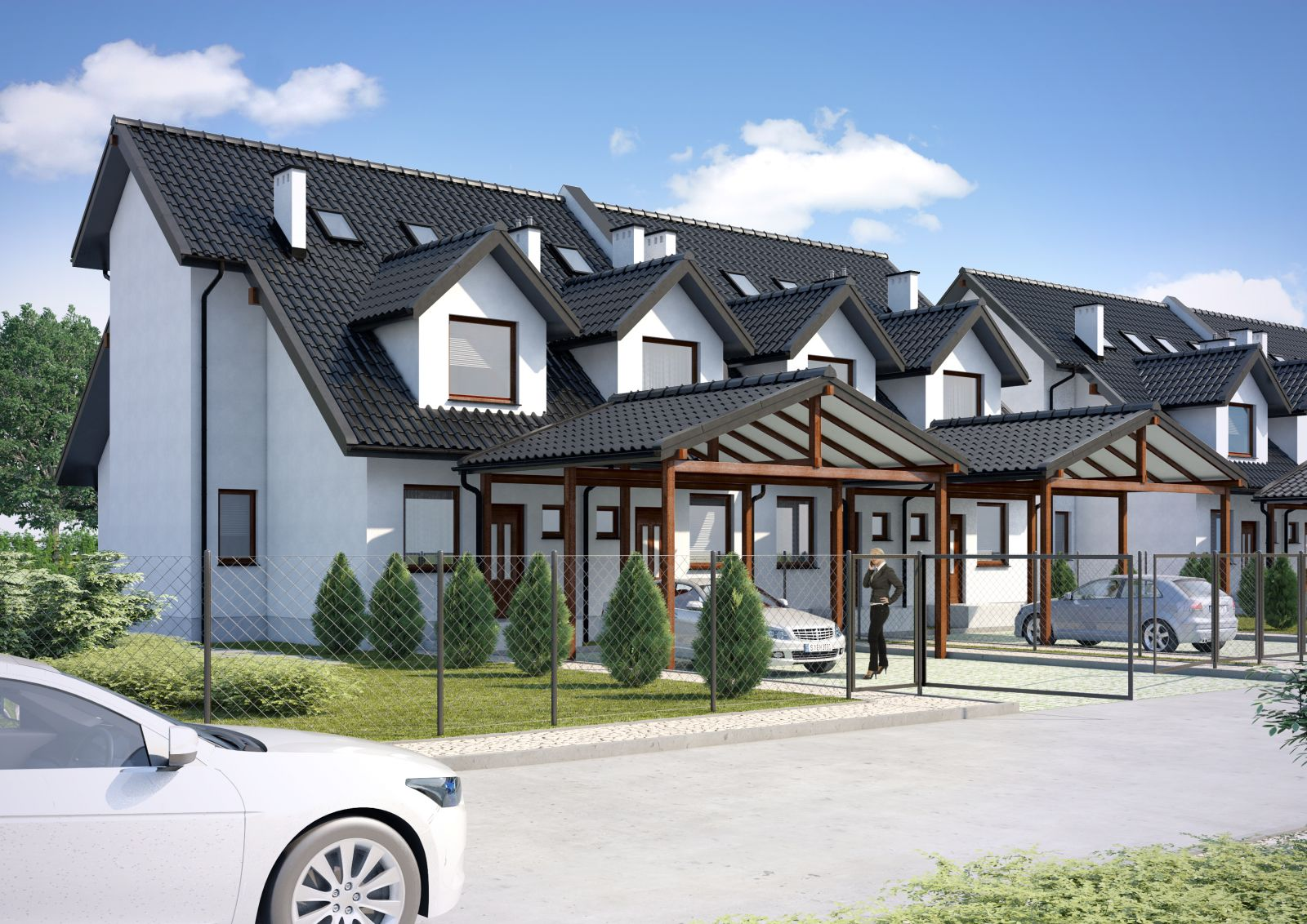 Domy szeregowe – gotowe projekty domów