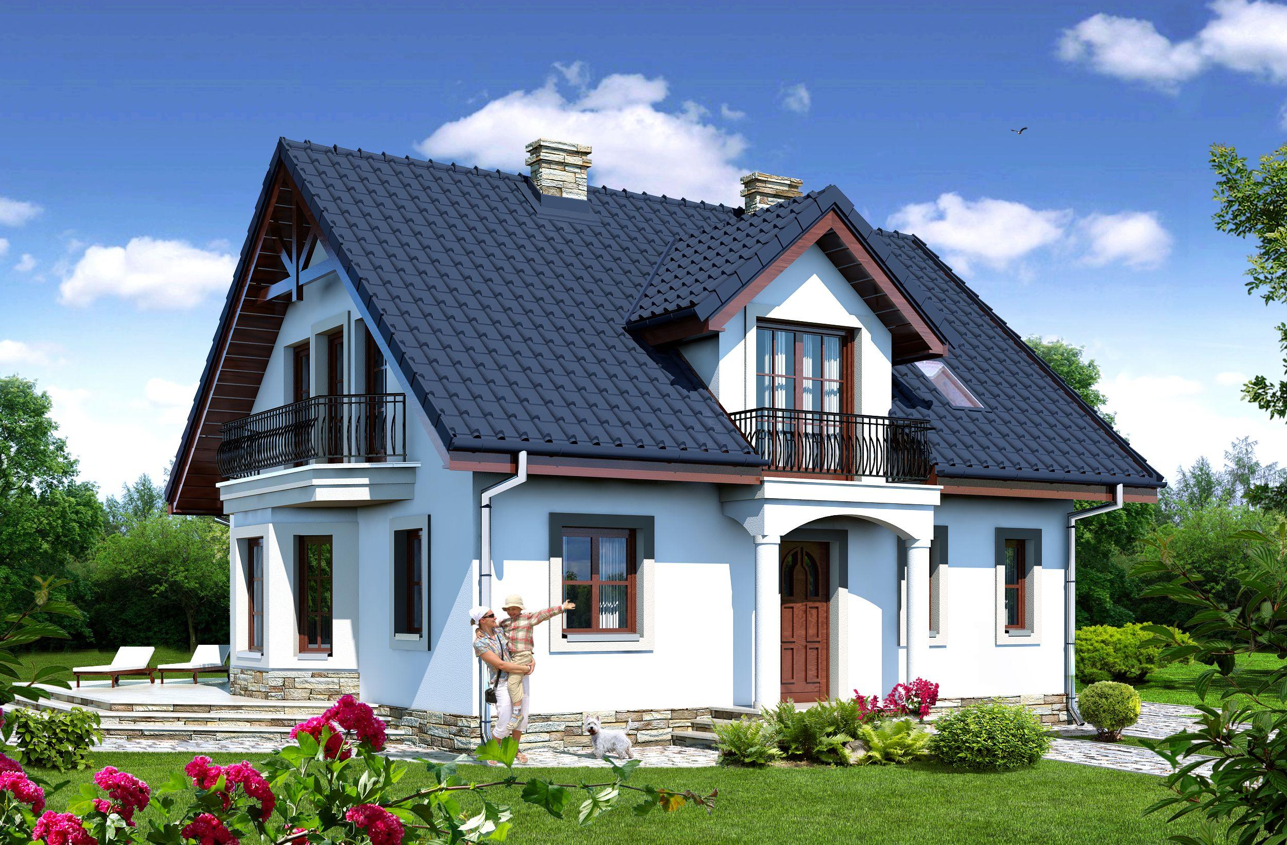 Domy jednorodzinne – projekty domów